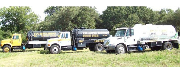 G&L Septic Service Pump Truck Fleet